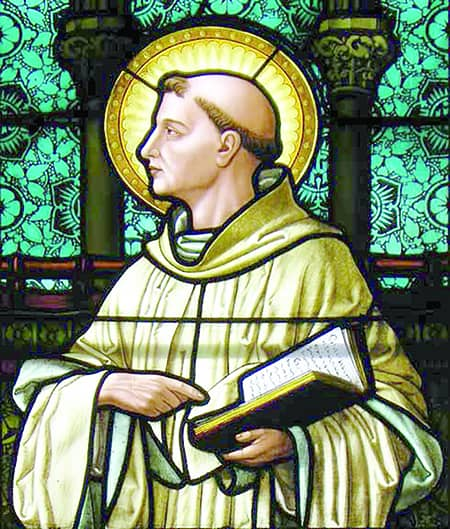 St. Bernard of Clairvaux (Aug. 20) Doctor of the Church, patron of candle-makers, beekeepers and wax refiners